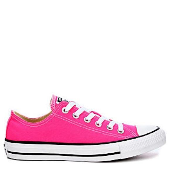 Converse Shoes - 50% OFF! EUC Hot Pink Converse All ⭐ Star. 2f49b6ca3